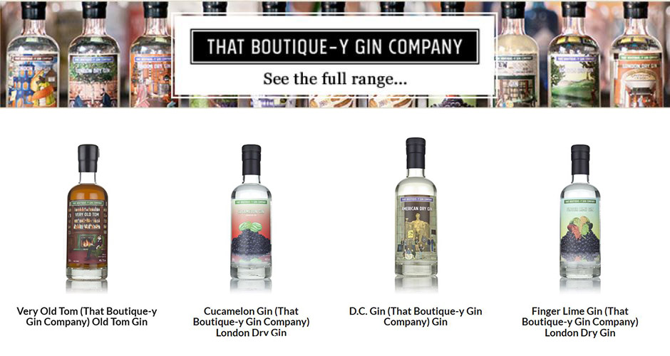 20% OFF The Boutique-y Gin Company Gins