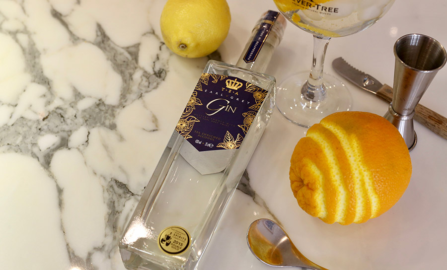 Double Gold winning Earl Grey Gin