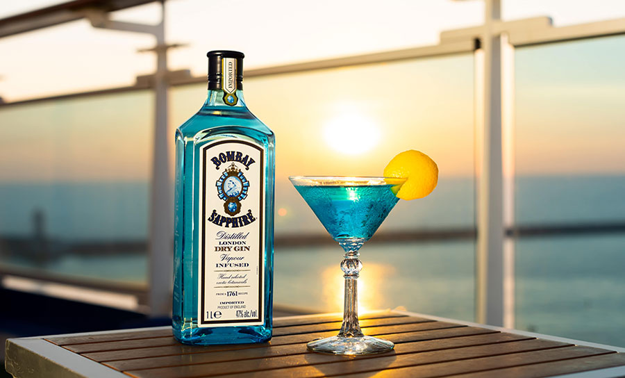 Princess Cruises unveils gin tasting experiences on UK-based ship