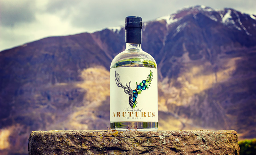 Luxury Scottish Gin is Shining brightly: The stars align for Arcturus gin