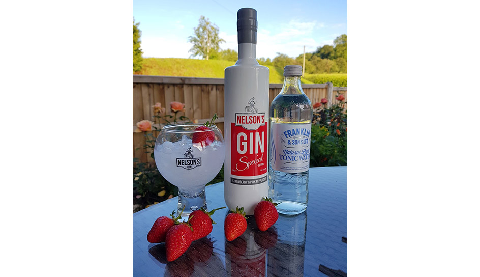 As Wimbledon Be-Gins, Nelson's Distillery & School Serve Up a Smashing Strawberry Gin
