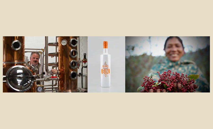 UK distillery in world-first as Nelson's Gin officially launches Timur Gin