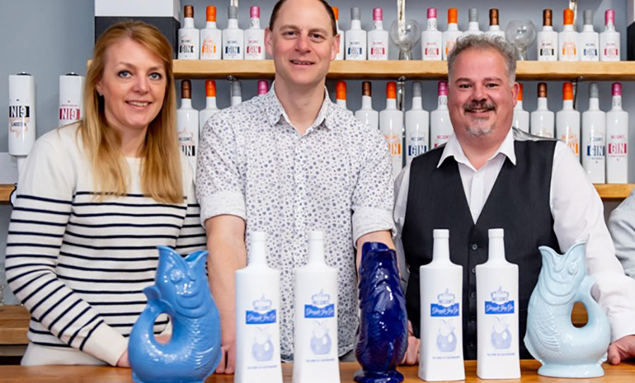 GIN-credible! Nelson's Distillery & School Launches Gluggle Jug Gin